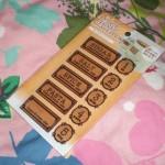 100円ショップミーツ&シルクの保存容器用ステッカー(シール)