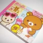 100均ダイソー・リラックマのメモ帳が1枚1円♪可愛くて使える