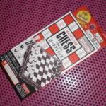 100均ダイソーおもちゃ「ポータブルチェス」で初めて遊んでみた