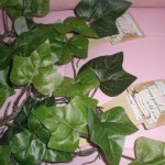 100均ダイソーで観葉植物代わりにワイヤー入フェイクグリーン(造花)をフル活用