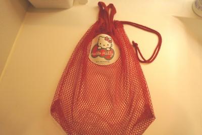 ダイソーおもちゃ入れメッシュバッグ使用前2