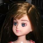 100均ダイソー・エリーちゃんをリカちゃん人形に似せたくて改造