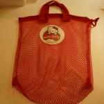 100円ショップダイソー「おもちゃ入れメッシュバッグ」ならたっぷり保管で清潔