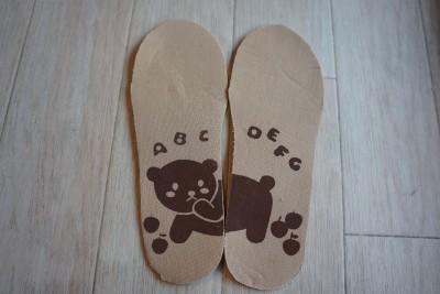 ミーツ子供用靴インソール使用前3