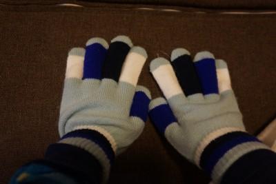 ミーツ防寒用手袋使用後2