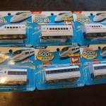 100均ダイソー電車のおもちゃ、電車好きのこどもなら集めたくなる!