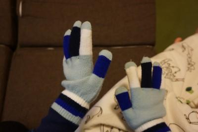 ミーツ防寒用手袋使用後1
