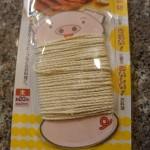 100均ミーツの料理用タコ糸は、問題なく使えてお得です