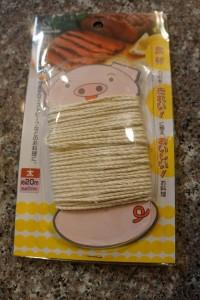 ミーツ料理用タコ糸使用前2