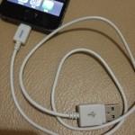 100均ダイソーで見つけた!!iPhone5対応「USB充電専用ケーブル」