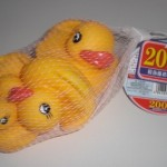 100均ダイソー:お風呂のアヒルで癒しのバスタイム(4羽¥200)