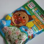 100円ショップミーツ「アンパンマンふりかけわかめ味」こどものご飯を楽しく☆