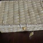 100均ナチュラルキッチン「竹のふた付きボックス」をカトラリーケースに