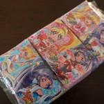 100円ショップミーツ「魔法使いプリキュアポケットティッシュ」女の子の人気キャラ☆