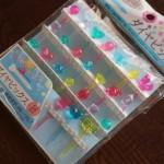 100均ダイソー「ダイヤピック」キュートな宝石☆