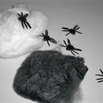100円ショップダイソーでハロウィン用蜘蛛の巣GET!(蜘蛛付)