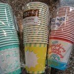 100円ショップセリア「ペーパーカップ」ポップでキュート☆まとめ買い