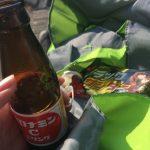 100円ショップダイソーでピクニック用菓子&飲み物を事前購入